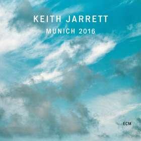 Keith Jarrett (geb. 1945): Munich 2016, LP
