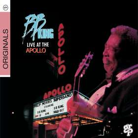 B.B. King: Live At The Apollo, CD