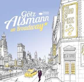 Götz Alsmann: Am Broadway (180g) (Limited Edition) (Blue Vinyl), LP