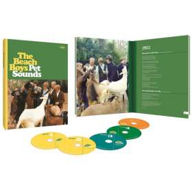 The Beach Boys: Pet Sounds (Limited 50th Anniversary Edition Boxset), 4 CDs