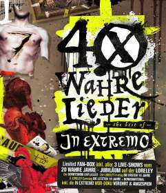 In Extremo: 40 wahre Lieder - The Best Of (Limited Loreley-Fanbox) , 2 CDs