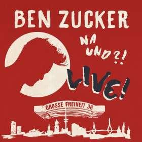 Ben Zucker: Na und?! Live!, CD
