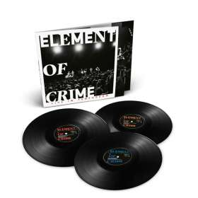 Element Of Crime: Live Im Tempodrom, 3 LPs
