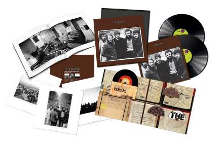 The Band: The Band (50th Anniversary Limited Vinylbox), CD