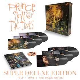 Prince: Sign O' The Times (remastered) (180g) (Super Deluxe Edition), LP