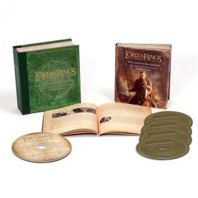 Filmmusik: The Lord Of The Rings: Return Of The King (Deluxe-Collector's-Box), 4 CDs