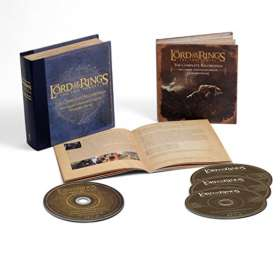 Filmmusik: The Lord Of The Rings: The Two Towers - The Complete Recordings (Deluxe-Collector's-Box), 3 CDs