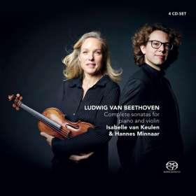 Ludwig van Beethoven (1770-1827): Violinsonaten Nr.1-10, 4 SACDs