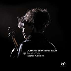 Esther Apituley - Bach for Viola, SACD