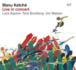 Manu Katche (geb. 1958): Live In Concert, CD