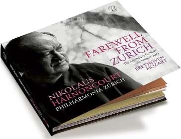 Nikolaus Harnoncourt - Farewell From Zurich, CD