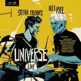 Alex Riel & Stefan Pasborg: Universe Live, CD