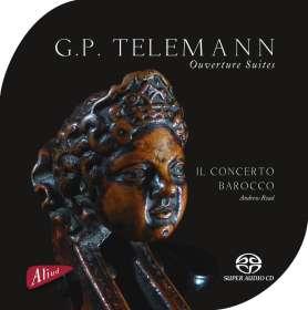 Georg Philipp Telemann (1681-1767): Ouvertüre a 5 TWV 55:D6, SACD