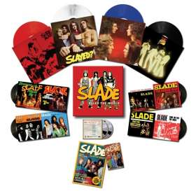 Slade: When Slade Rocked The World 1971-1975 (180g) (Limited Edition Box Set) (Colored Vinyl), 4 LPs