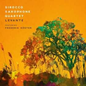 Sirocco Saxophone Quartet & Frederik Köster: Levante, CD