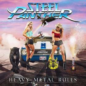 Steel Panther: Heavy Metal Rules, CD
