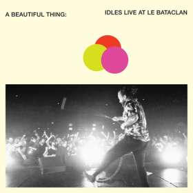 Idles: A Beautiful Thing: Live At Le Bataclan (Limited Edition) (Clear Neon Orange Vinyl) , LP