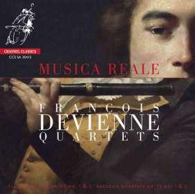 Francois Devienne (1759-1803): Quartette, SACD