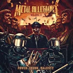 Metal Allegiance: Volume II: Power Drunk Majesty, CD
