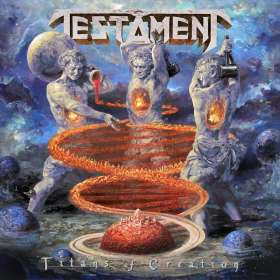 Testament (Metal): Titans Of Creation, CD