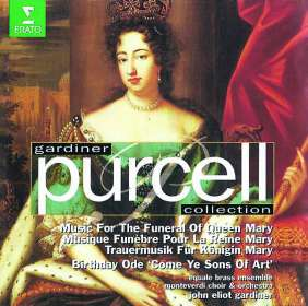 Henry Purcell (1659-1695): Queen Mary, CD