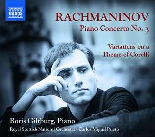 Sergej Rachmaninoff (1873-1943): Klavierkonzert Nr.3, CD