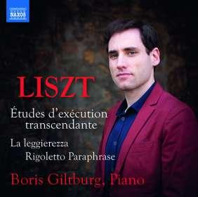 Franz Liszt (1811-1886): Etudes d'execution transcendante, CD