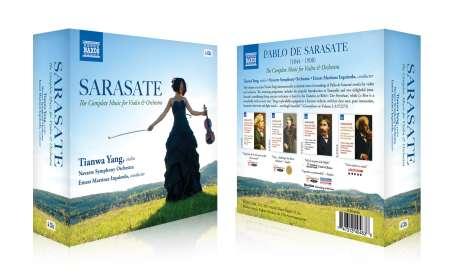 Pablo de Sarasate (1844-1908): Sämtliche Werke für Violine & Orchester, CD