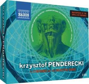 Krzysztof Penderecki (geb. 1933): Symphonien Nr.1-8, 5 CDs