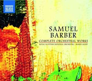 Samuel Barber (1910-1981): Das Orchesterwerk, CD