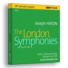 "Joseph Haydn (1732-1809): Symphonien Nr.93-104 ""Londoner"", CD"