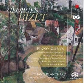 Georges Bizet (1838-1875): Klavierwerke, SACD