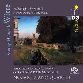 Georg Hendrik Witte (1843-1929): Klavierquartett op.5, SACD
