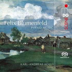 Felix Mikhailovich Blumenfeld (1836-1931): Klavierwerke, SACD