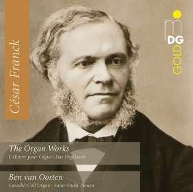 Cesar Franck (1822-1890): Orgelwerke (Ges.-Aufn.), 4 CDs