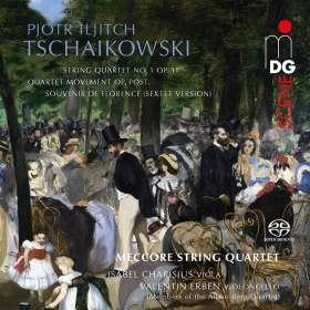 """Peter Iljitsch Tschaikowsky (1840-1893): Sextett op.70 """"Souvenir de Florence"""", SACD"""