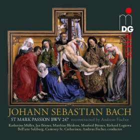 Johann Sebastian Bach (1685-1750): Markus-Passion nach BWV 247, 2 SACDs