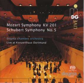 Wolfgang Amadeus Mozart (1756-1791): Symphonie Nr.29, SACD