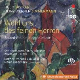 """Hugo Distler (1908-1942): Orgel- und Vokalwerke """"Wohl uns des feinen Herren"""", SACD"""