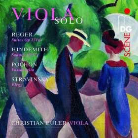 Christian Euler - Viola Solo, SACD