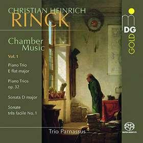 Johann Christian Heinrich Rinck (1770-1846): Kammermusik Vol.1, SACD