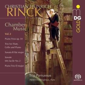 Johann Christian Heinrich Rinck (1770-1846): Kammermusik Vol.2, SACD