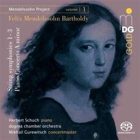 Felix Mendelssohn Bartholdy (1809-1847): Mendelssohn Project Vol.1, SACD