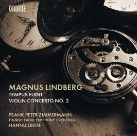 Magnus Lindberg (geb. 1958): Violinkonzert Nr.2 (2015), CD