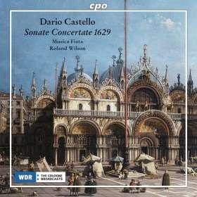 Dario Castello (?-1644): Sonate concertate in stile moderno 1629, CD