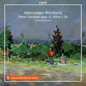 Mieczyslaw Weinberg (1919-1996): Klaviersonaten Nr.2 & 4 (op.8 & 56), CD