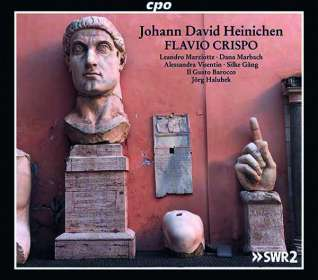Johann David Heinichen (1683-1729): Flavio Crispo (Oper in 3 Akten), 3 CDs