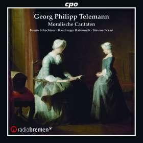 Georg Philipp Telemann (1681-1767): Moralische Kantaten, CD