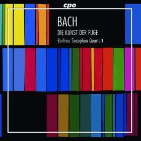 Johann Sebastian Bach (1685-1750): Die Kunst der Fuge BWV 1080 für 4 Saxophone (180g), LP