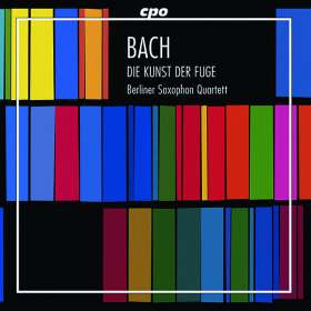 Johann Sebastian Bach (1685-1750): Die Kunst der Fuge BWV 1080 für 4 Saxophone (180g), 2 LPs